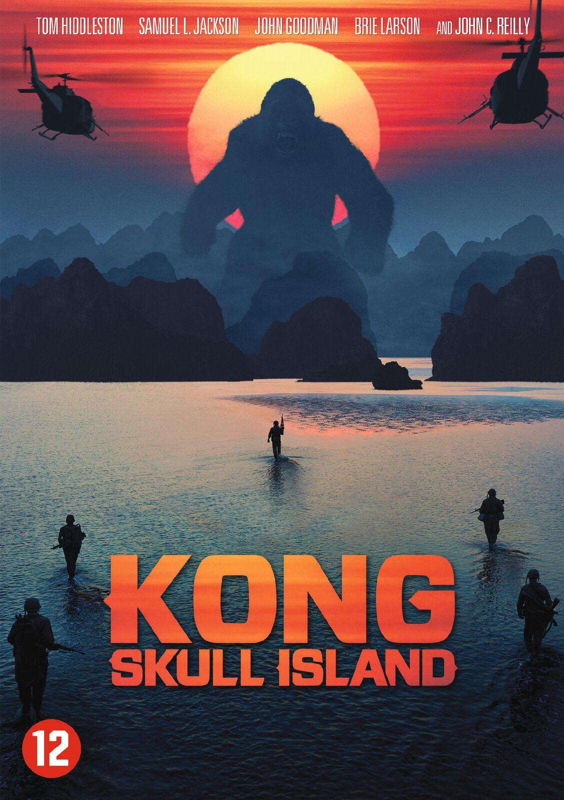Kong Island Cover Dvd