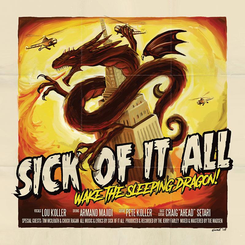 Sick Of It All Wake The Sleeping Dragon Punk Rock Theory