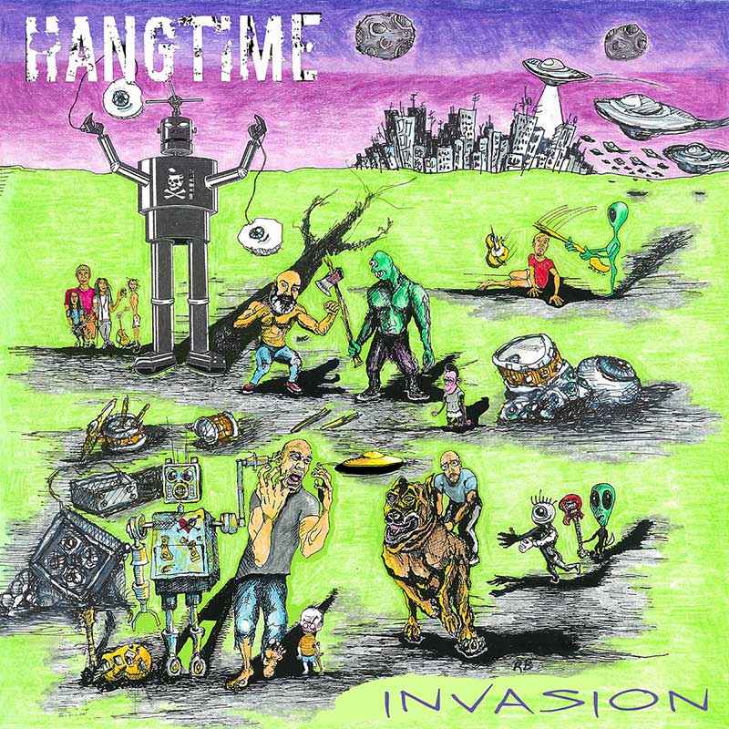 Hangtime Invasion Punk Rock Theory