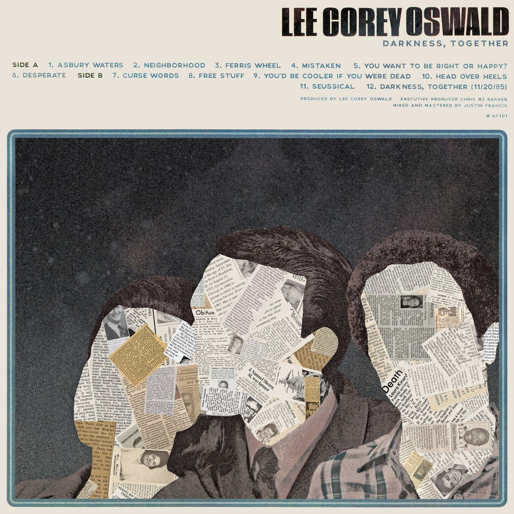 Lee Corey Oswald Darkness Together Punk Rock Theory