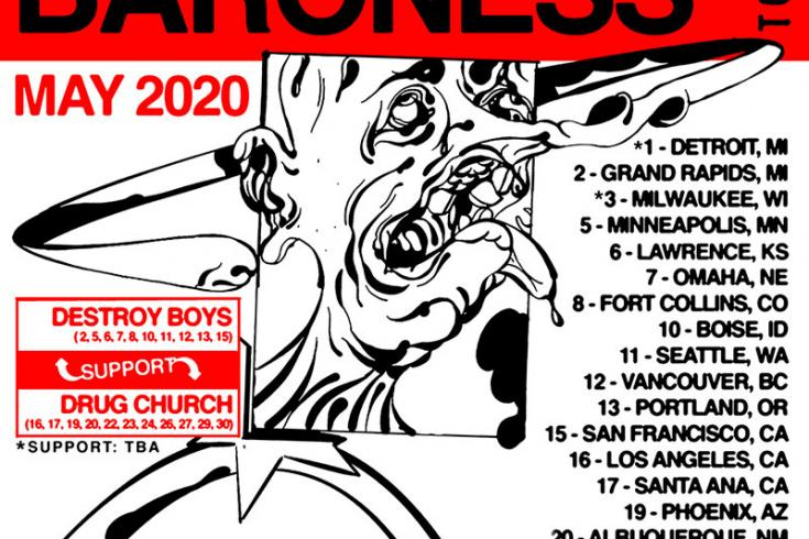 Against Me! and Baroness announce May North American co-headline tour