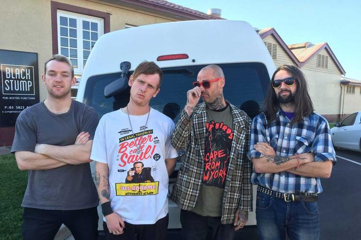 PREMIERE: Blind Man Death Stare release 'Just Because It Feels Good' single