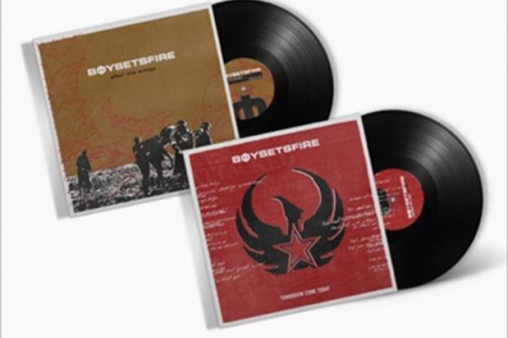 First-ever vinyl release of Boysetsfire's 'After the Eulogy' and 'Tomorrow Come Today'