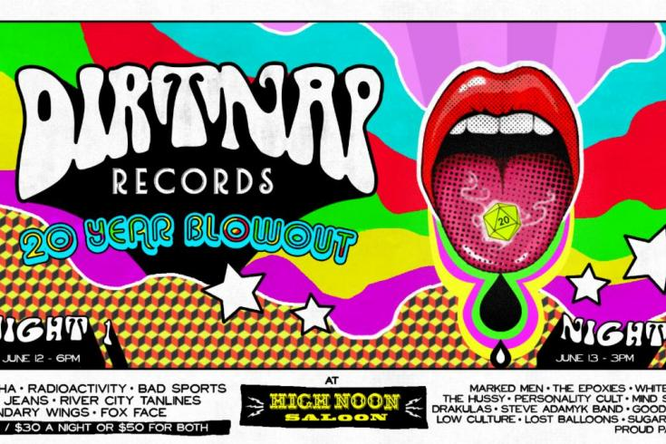 Dirtnap Records announces 20th anniversary 2-day fest