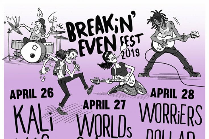 Check out the promo video on Breakin' Even Fest