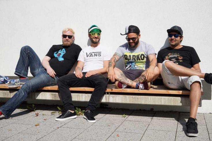 Track-by-track: German skatepunks Heathcliff walk us through their new album 'Stay Posi'