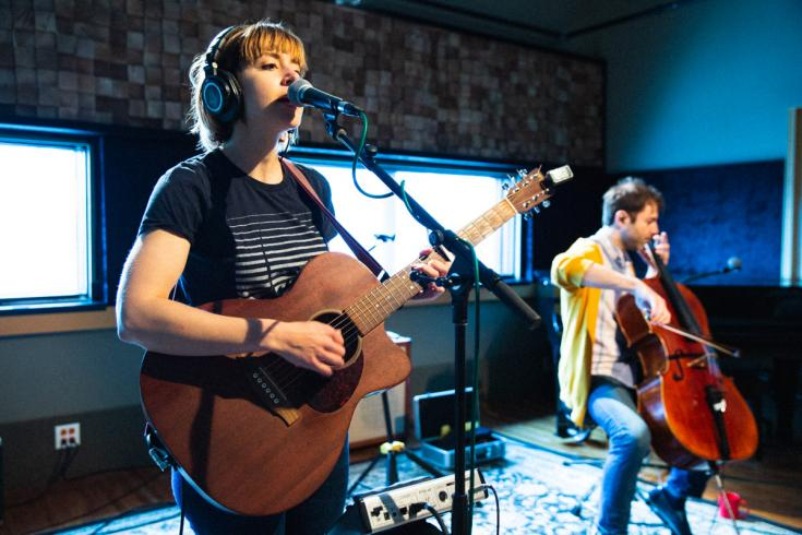 Laura Stevenson shares Audiotree session