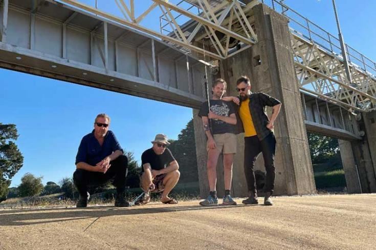 Australia's Power Supply shares new single 'Let's Do This and Let's Do That'