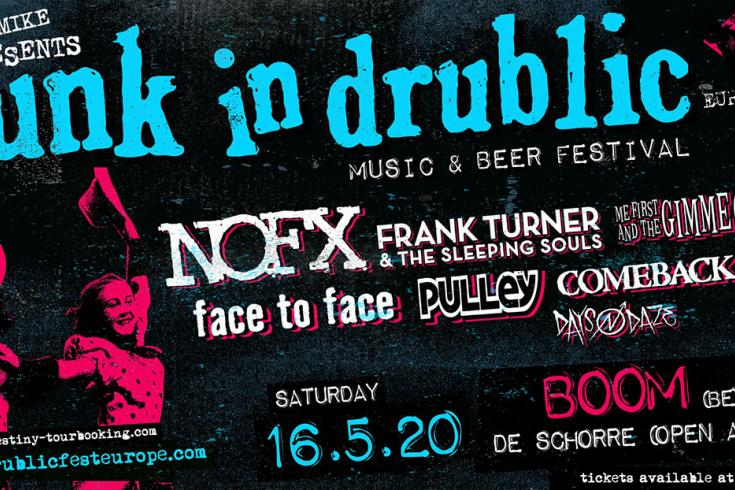 Five reasons why you should go to Punk in Drublic in Belgium
