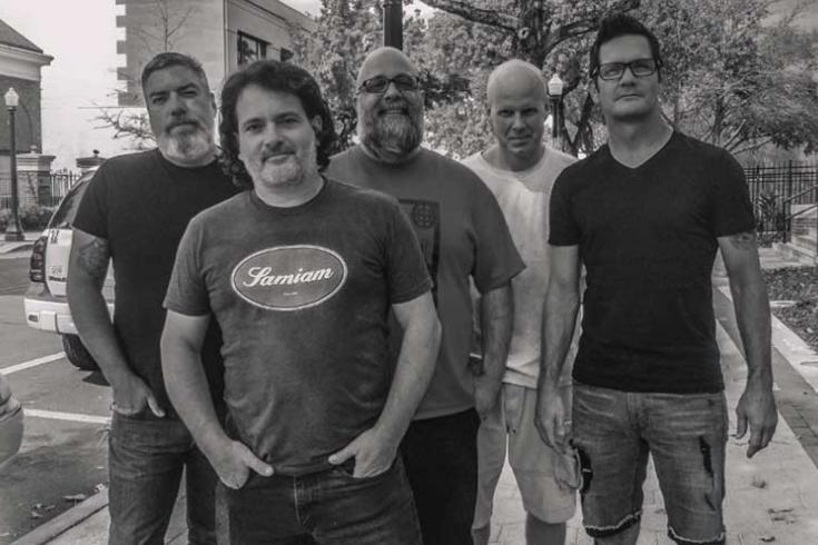 Slap Of Reality sign with A Jam Records