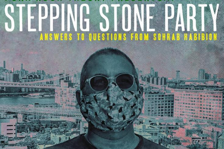 Stepping Stone Party #4 - John Reis (Rocket From The Crypt, Hot Snakes, Drive Like Jehu)