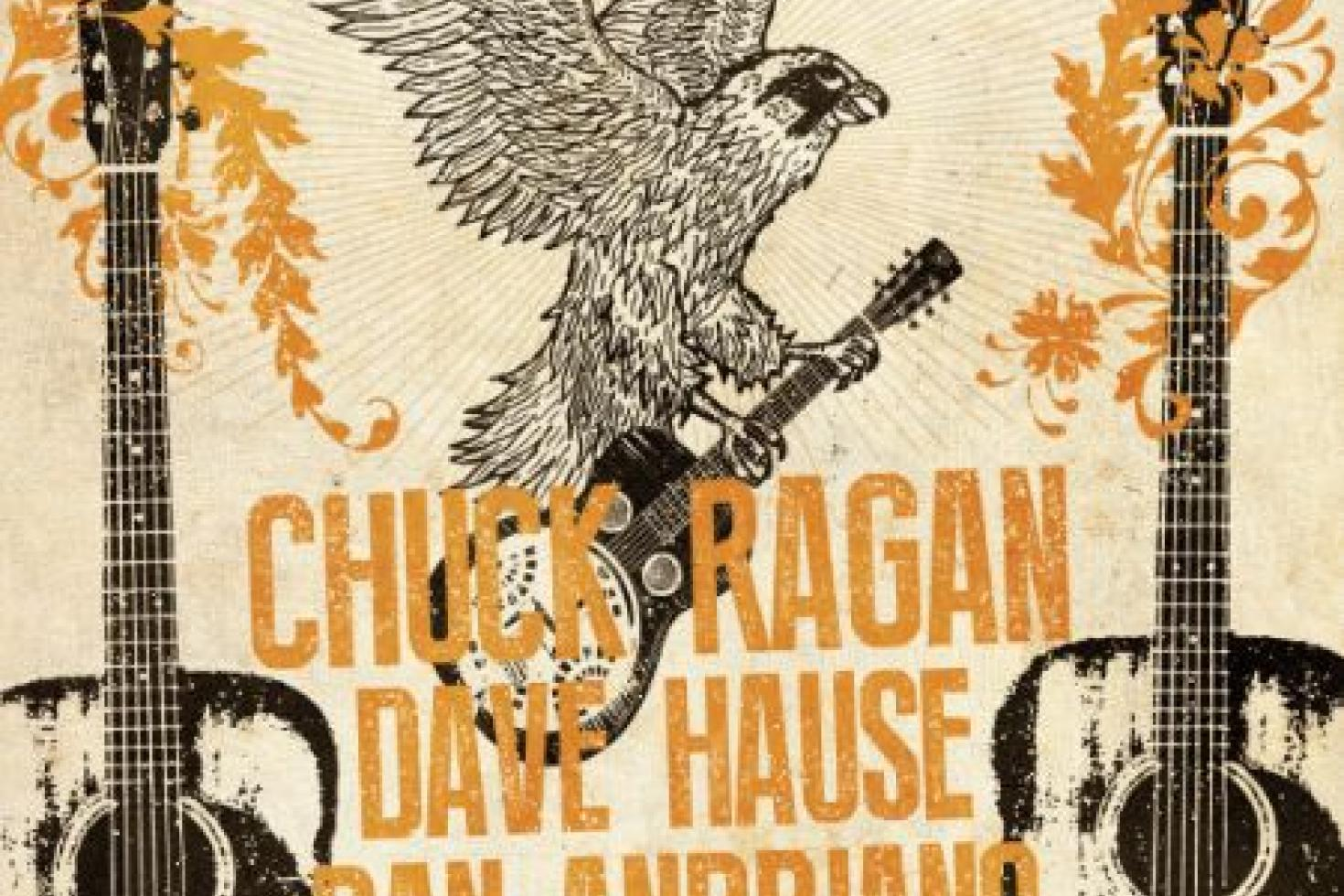 Chuck Ragan, Dan Andriano and Dave Hause celebrate an Evening of Revival