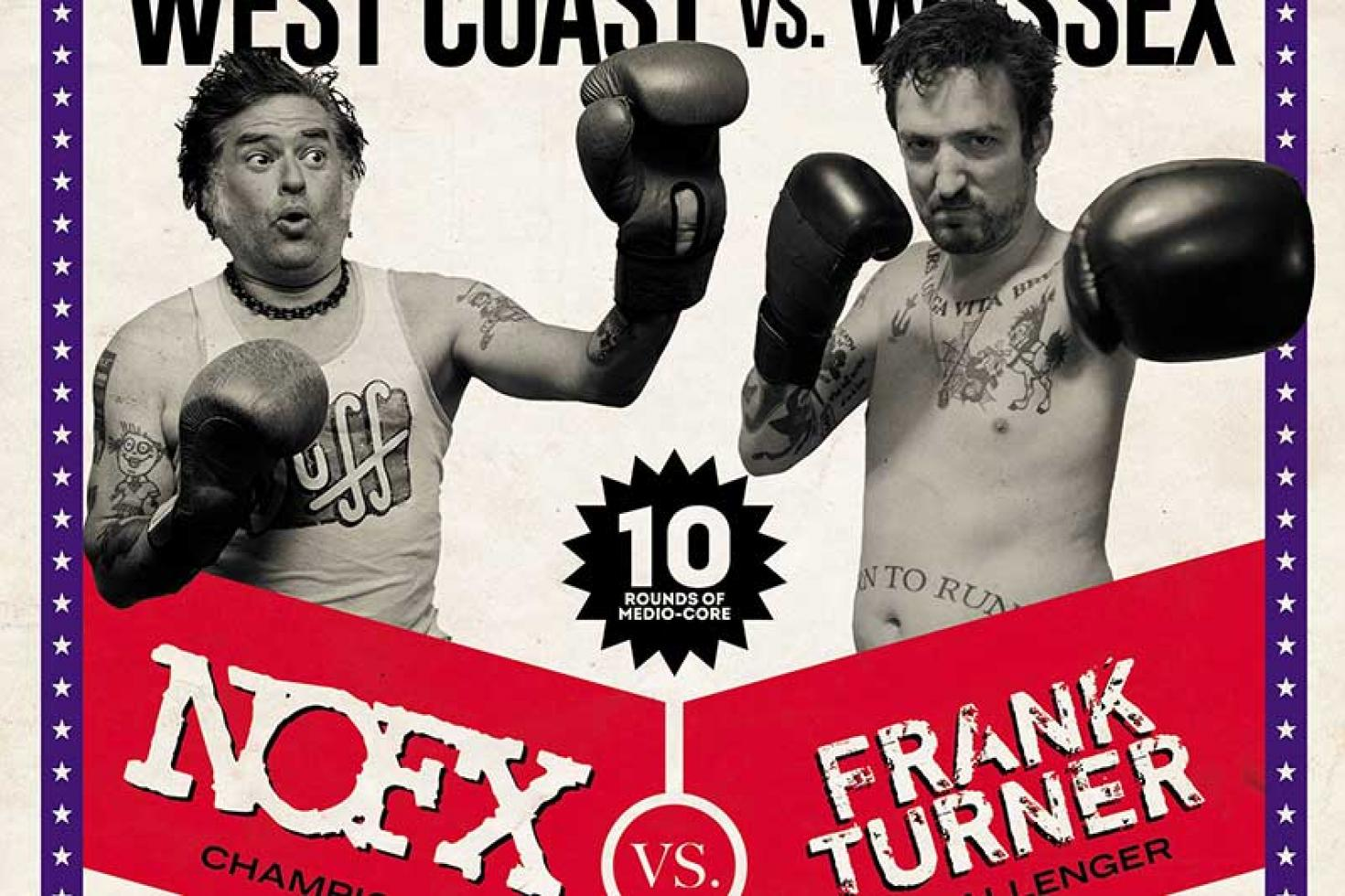 Frank Turner transforms NOFX's 'Falling in Love' with new single