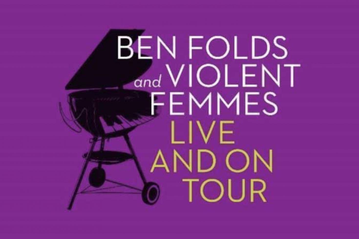 Ben Folds and Violent Femmes announce co-headline tour