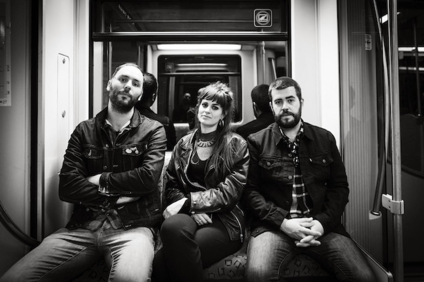 Brutus share live videos for 'Fire' and Sugar Dragon'