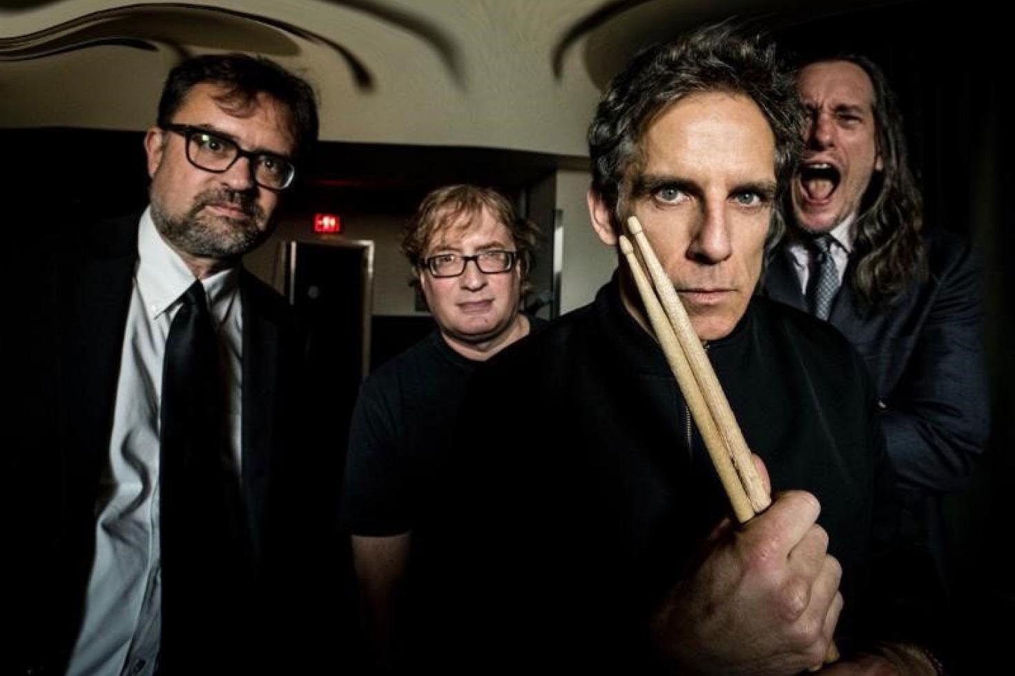 Check out Ben Stiller's high school post punk band