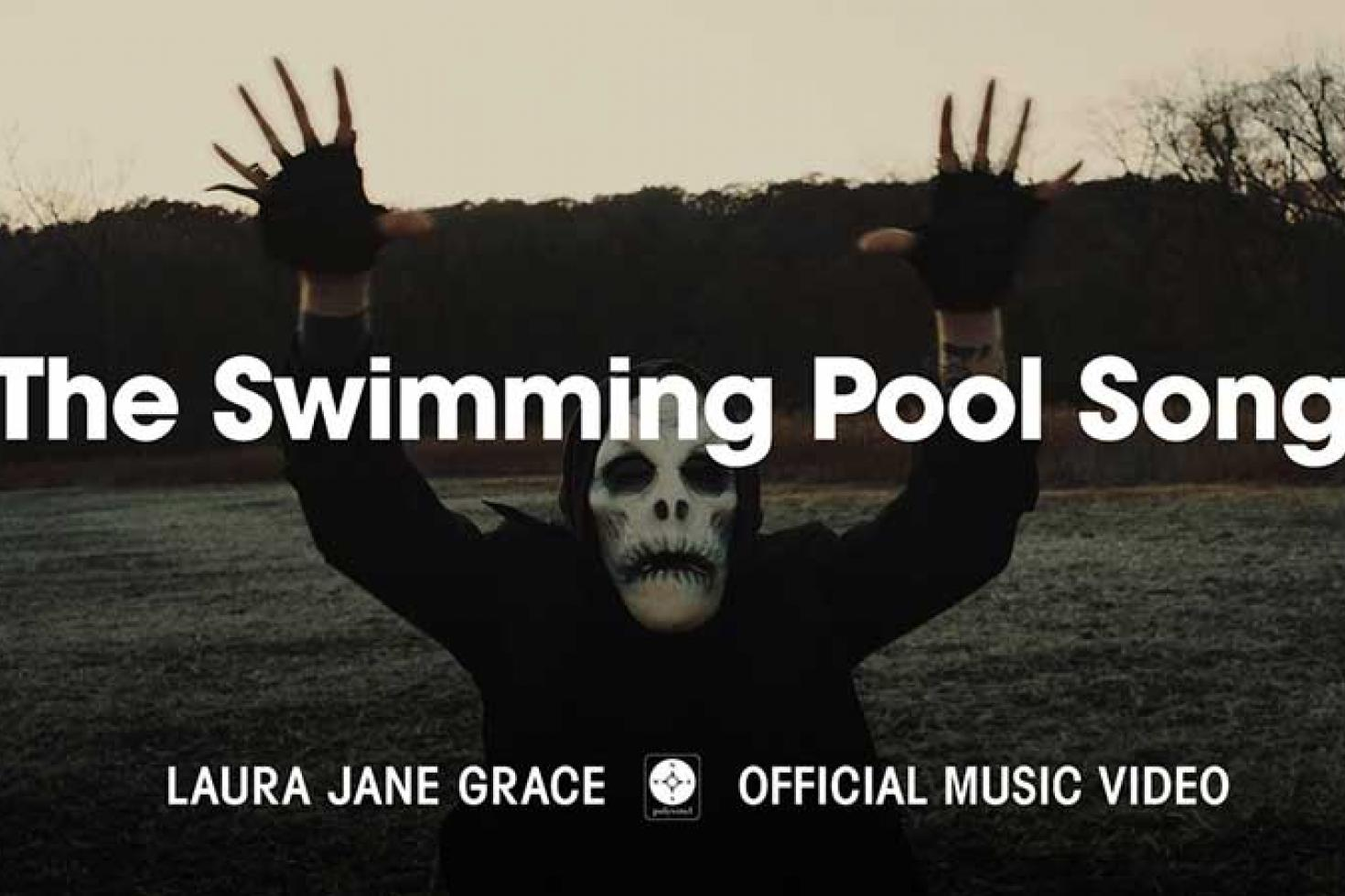 Laura Jane Grace shares NSFWFH video for 'The Swimming Pool Song'