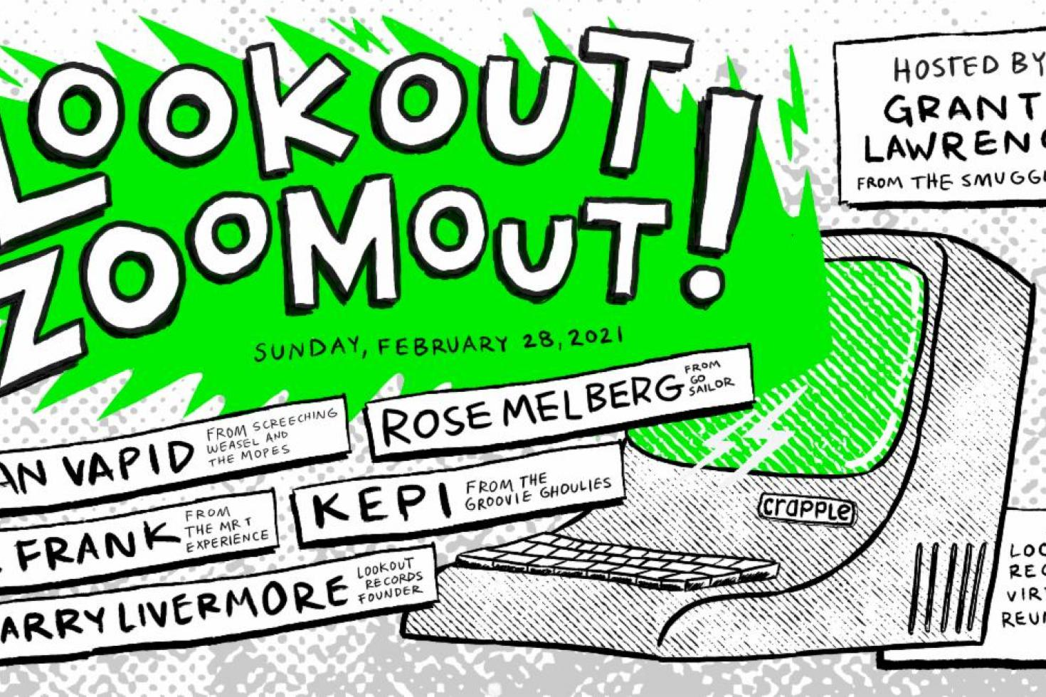 Lookkout Records announce Lookout Zoomout 2 - the second in a series of online reunion shows
