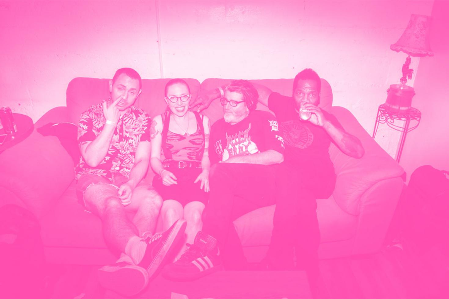 PREMIERE: Middle-Aged Queers share new single 'Theme Song'