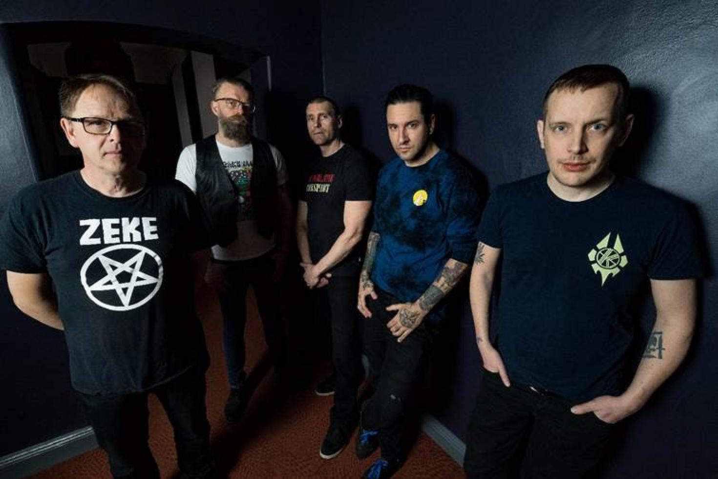 No Fun At All re-release 'Going Steady' EP via SBÄM Records