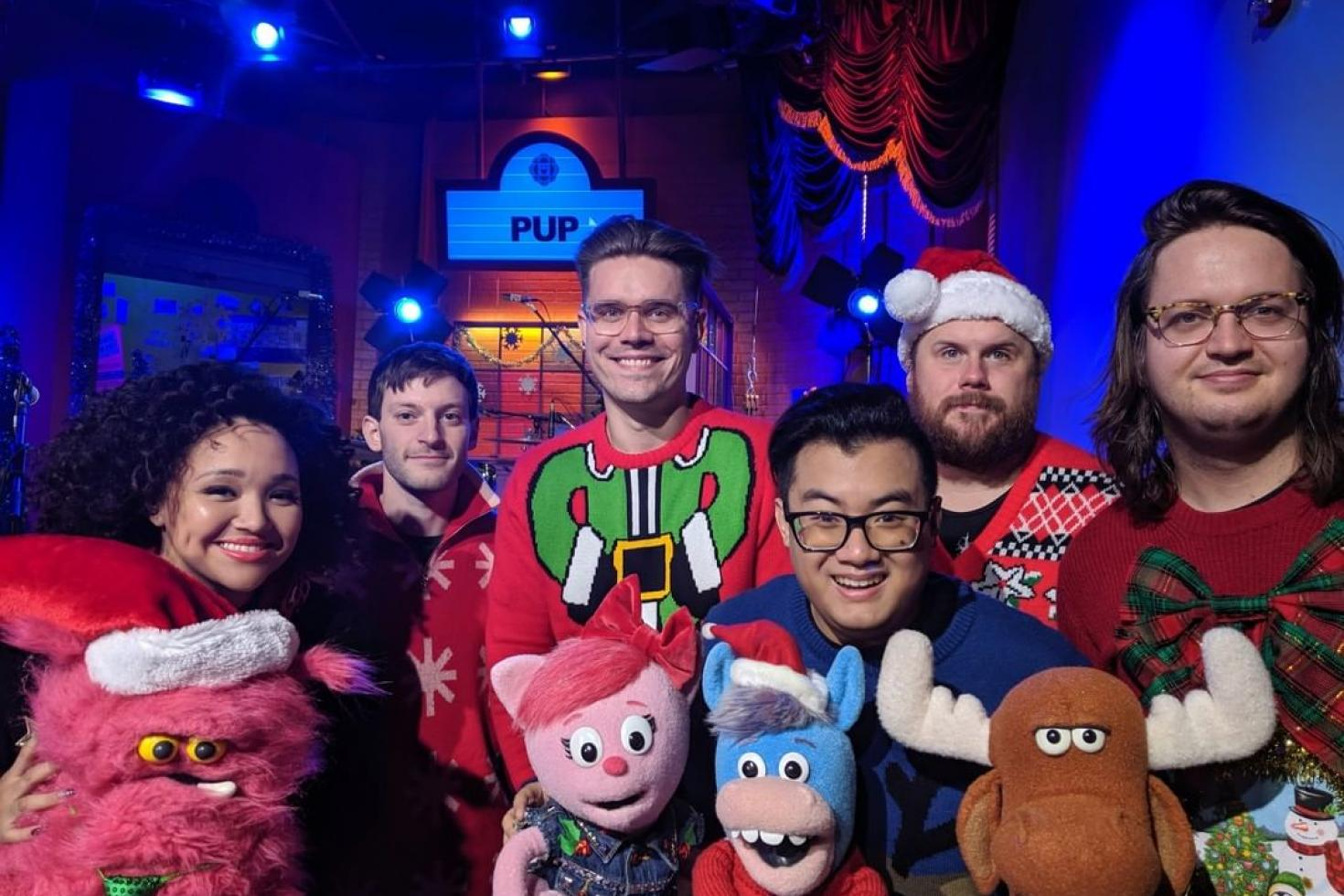 PUP perform Christmas reworking of 'Kids' for CBC Kids
