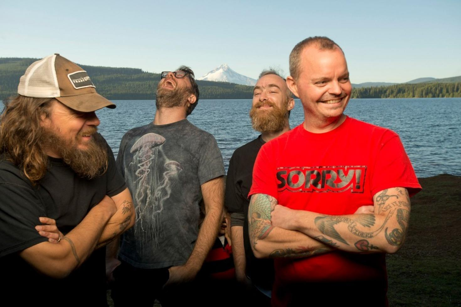 Red Fang share cover of 'Listen To The Sirens'