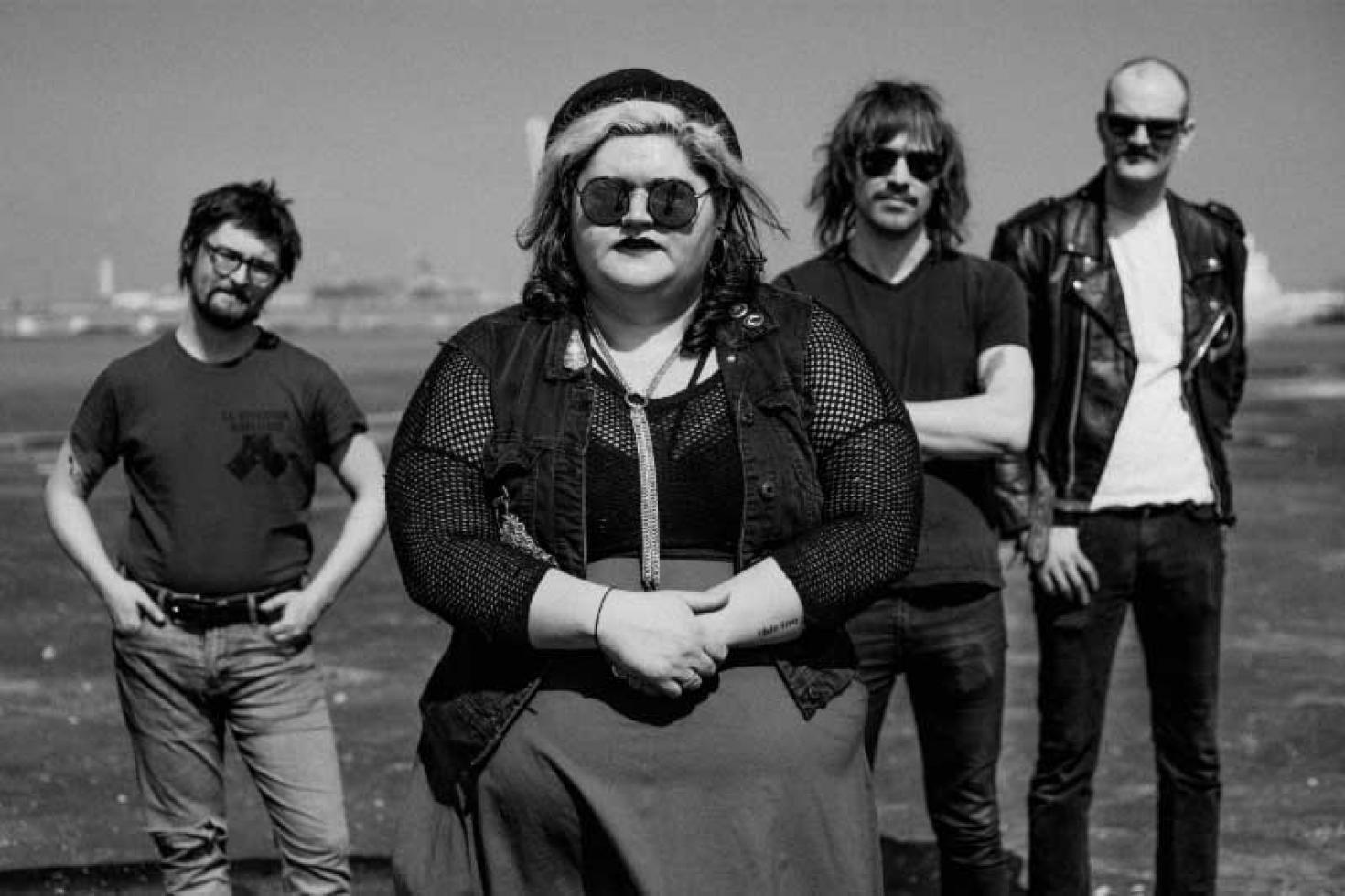 Sheer Mag release video for 'Hardly To Blame'