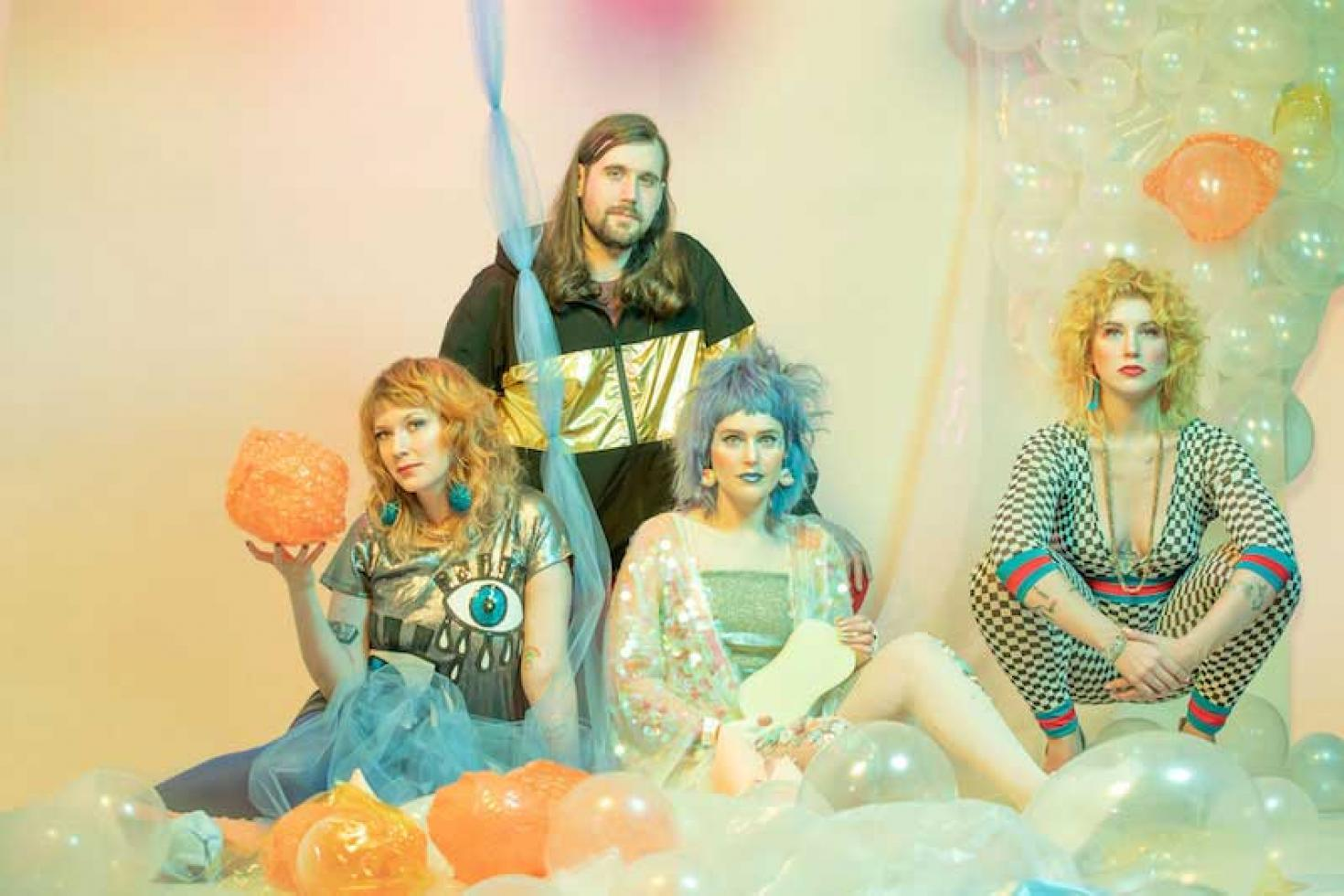 Tacocat share new single & video 'New World'