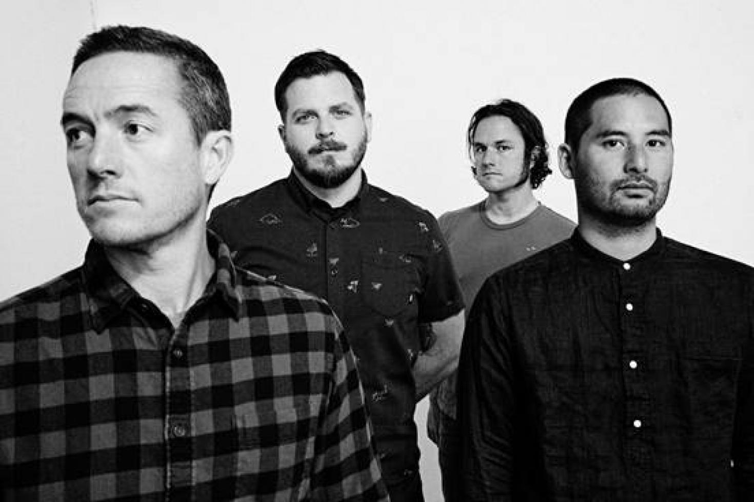 Thrice release 'Palms - Acoustic Sessions for Octane' EP today