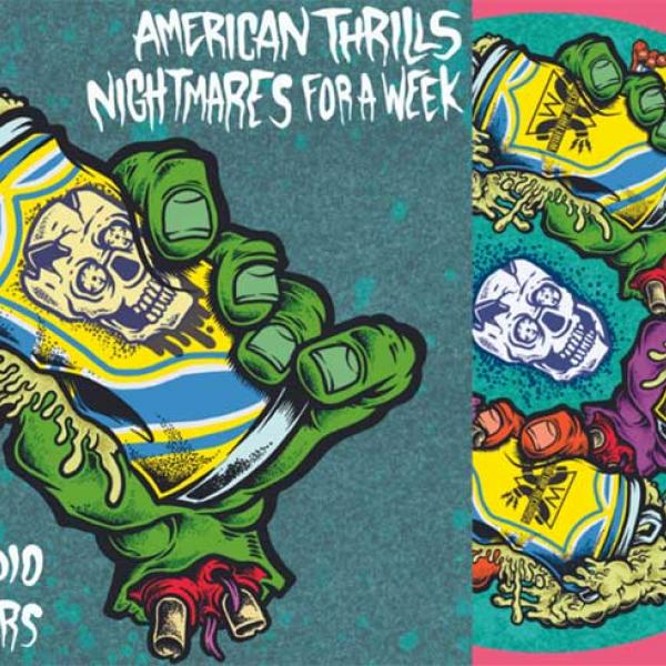 American Thrills, Tired Radio, Neckscars and Nightmares For A Week to release 4-way split