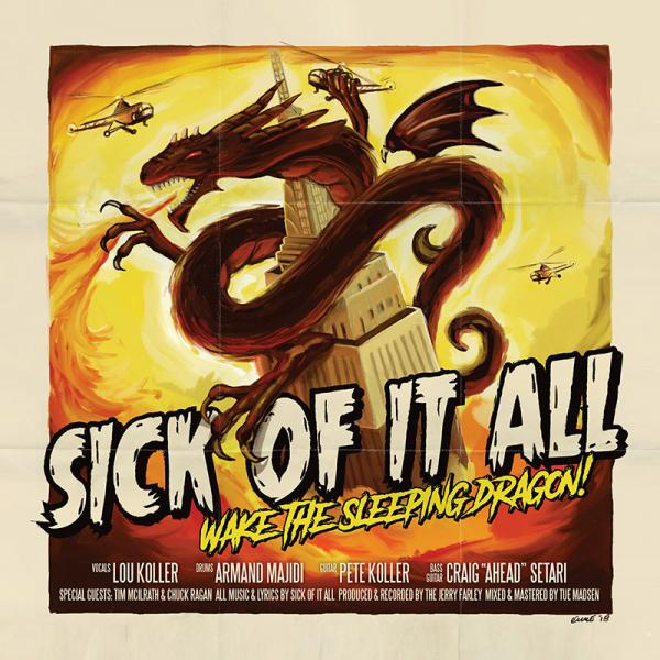 Sick Of It All Wake The Sleeping Dragon Punk Rock Theory