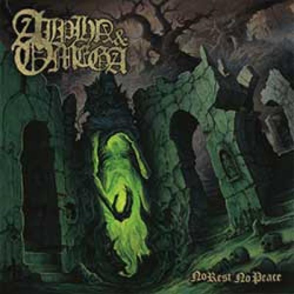 alpha & omega no rest no peace album cover