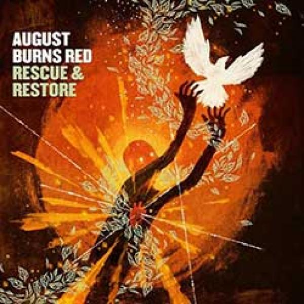 august burns red rescue & restore album cover