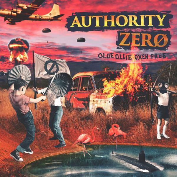 Authority Zero Ollie Ollie Oxen Free Punk Rock Theory