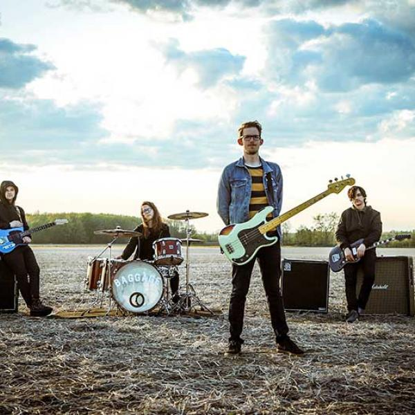 Baggage share lyric video for 'Potholes'