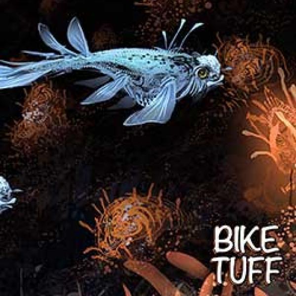 bike tuff into shore