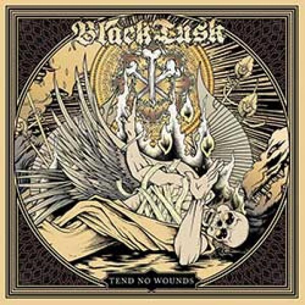black tusk tend no wounds album cover