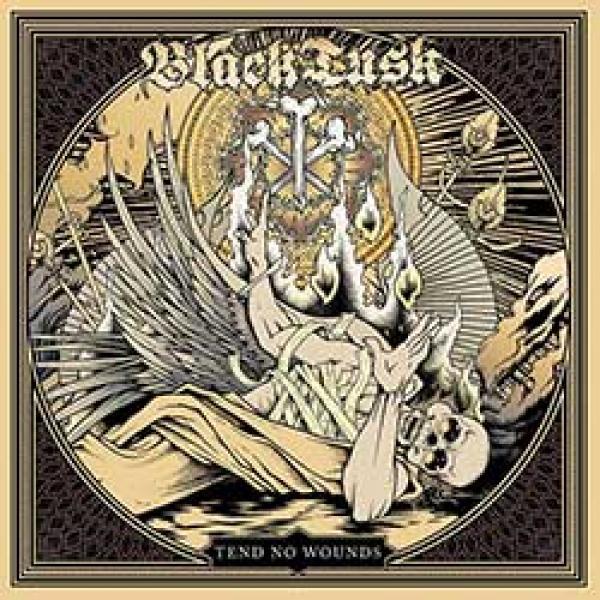 black tusk tend no wounds album cover
