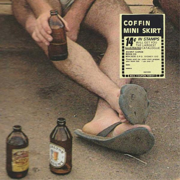 COFFIN Mini Skirt Split Punk Rock Theory
