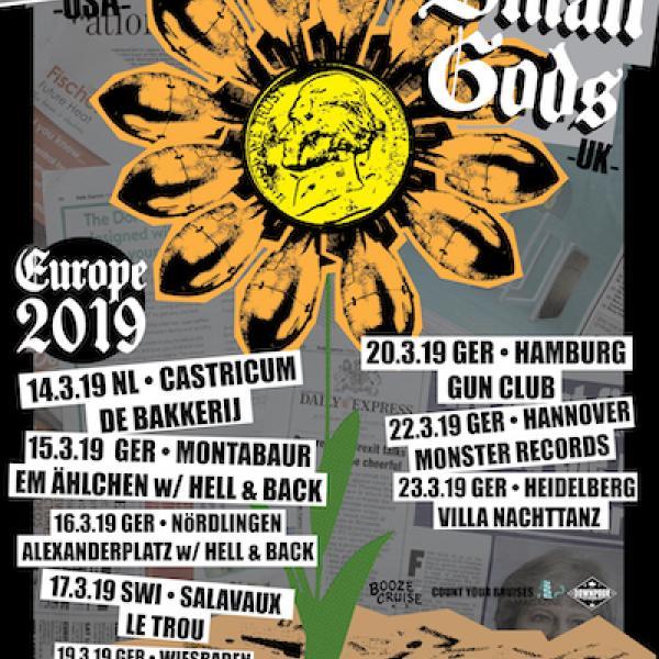 Debt Neglector and Small Gods announce EU tour dates