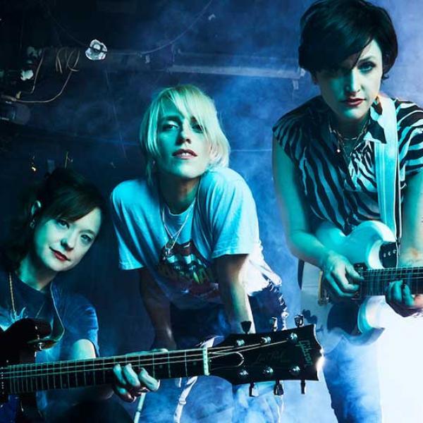 Ex Hex share anthemic new single 'Rainbow Shiner'