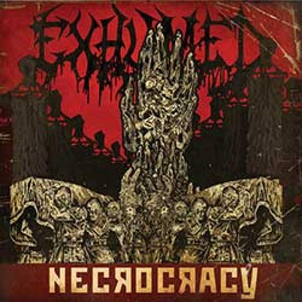 Exhumed Necrocacy album cover