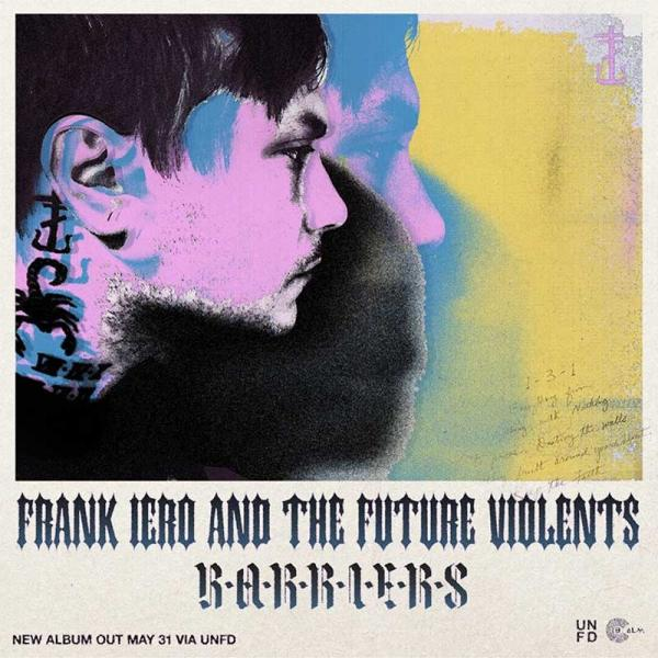 Image result for Frank Iero and the Future Violents - Barriers
