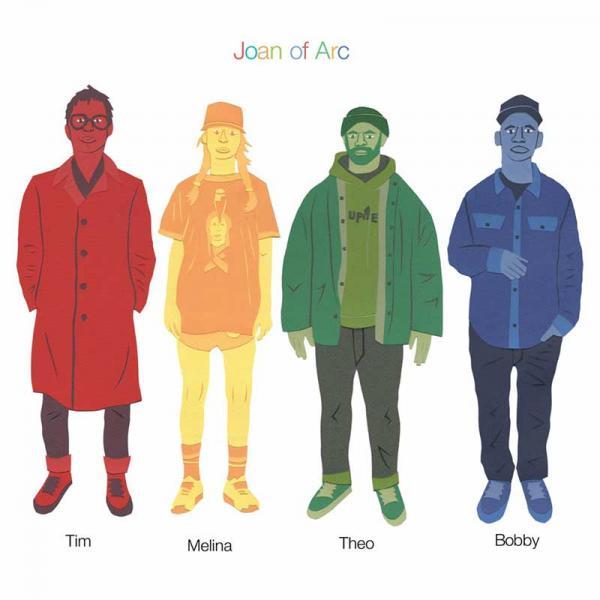 Joan Of Arc Tim Melina Theo Bobby Punk Rock Theory