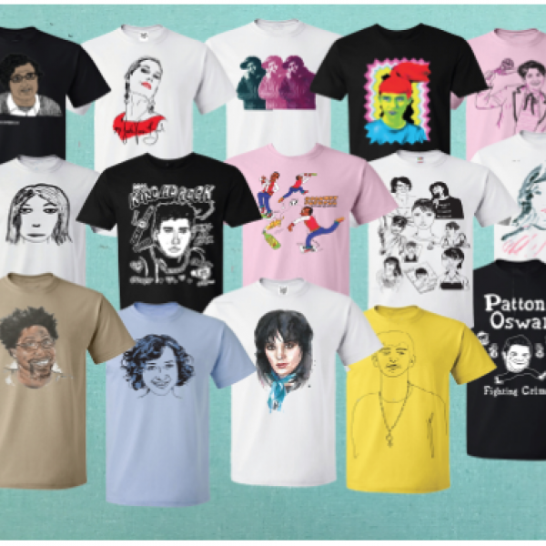 Kathleen Hanna launches TEES 4 TOGO T-shirt line