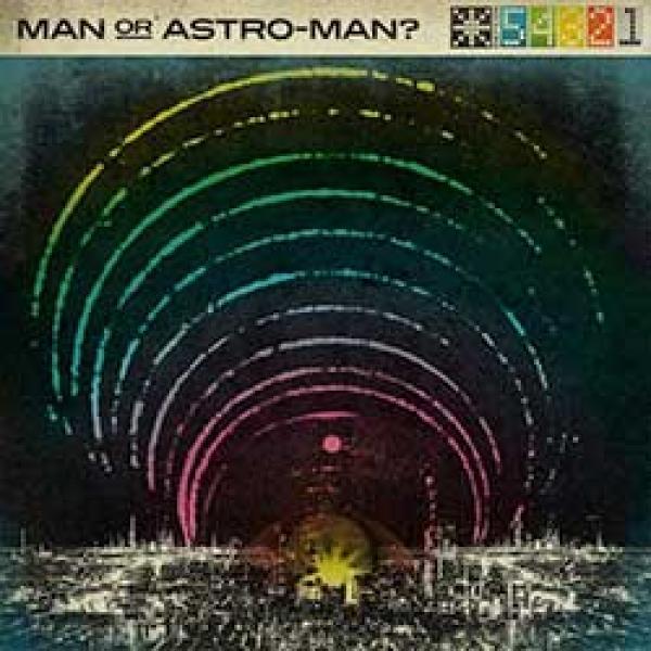 man or astro-man defcon album cover