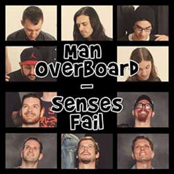 Senses Fail/Man Overboard split