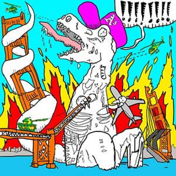 MC Lars – The Zombie Dinosaur LP