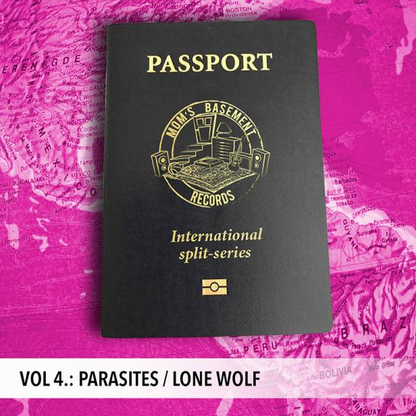 Parasites Lone Wolf Split Punk Rock Theory