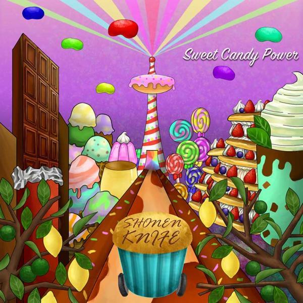 Shonen Knife Sweet Candy Power Punk Rock Theory